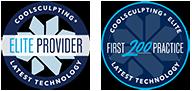 CoolSculpting Elite Provider combo Badge