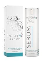 Factorfive regenerative serum anti aging cream human stem cell factors Harding Medical Institute icon 1